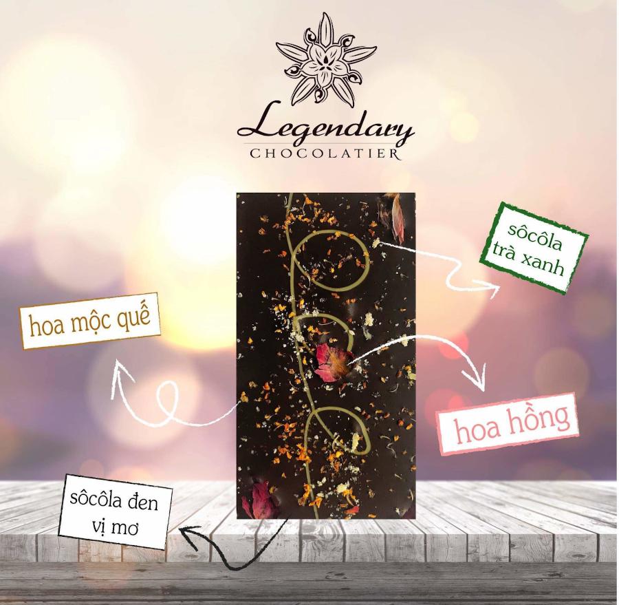 ホーチミン,チョコレート,お土産,レジェンダリー・ショコラティエ,Legendary Chocolatier,ディナー,ランチ
