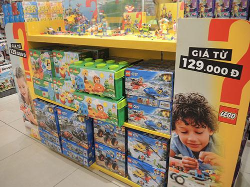 子どものおもちゃも販売されています。