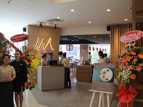 日本の甘味が楽しめる「MIYAMA CAFE」