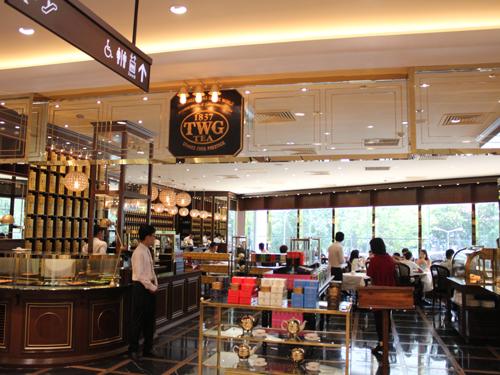 シンガポールで有名な高級紅茶店「TWGカフェ」