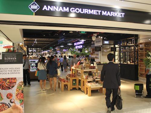 ここでしか手に入らないものもたくさん売られている「ANNAM GOURMET MARKET」