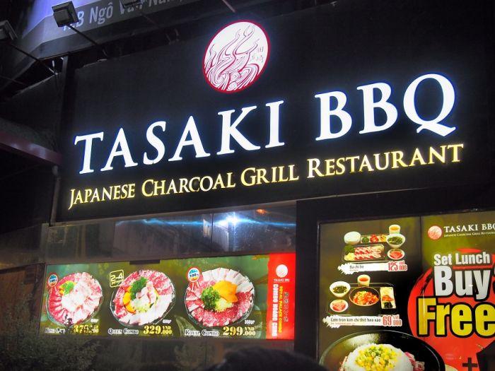 Tasaki BBQ 日本の焼肉をベトナムで