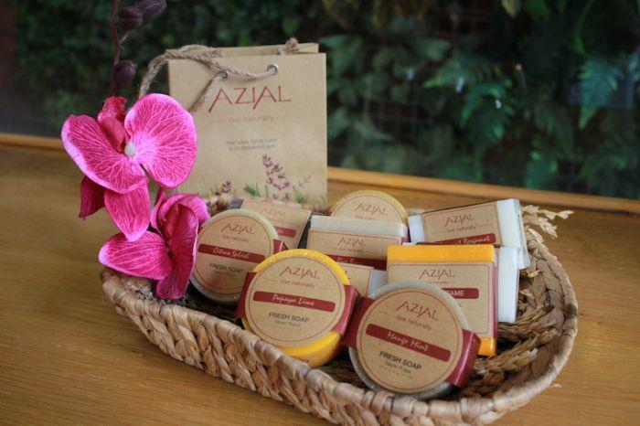【Lavender Spa】人気のAZIALのオイル使用!こだわりスパ