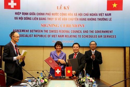 ベトナム/スイス直行便就航へ 両国間の関係強化が狙いか