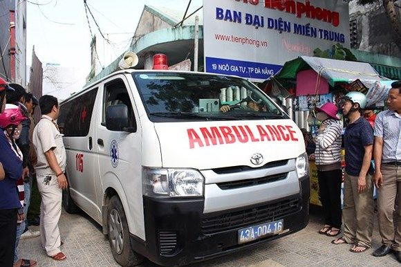 ダナンで作業員が転落、男性1名死亡