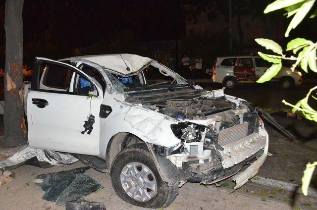 ホーチミンでトラックがバイクに衝突、2人死亡