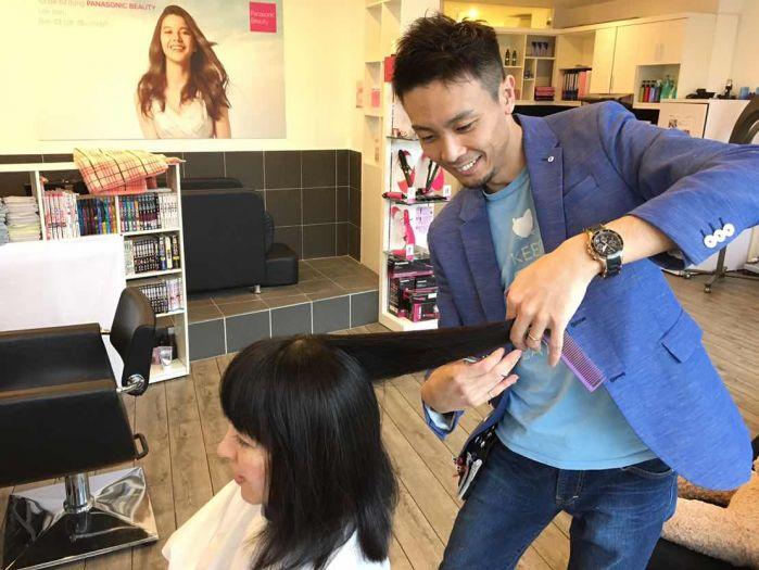 ハノイ・タイホーの日系美容室(ヘアサロン)「ヘアサロン・クーカイ(Hair Salon Kukai)」