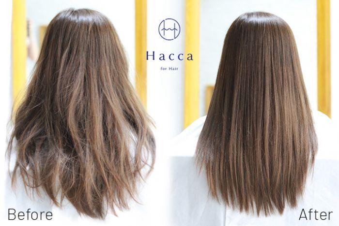 ストレートパーマが15%オフ!! 雨季で髪が広がる前に【Hacca】
