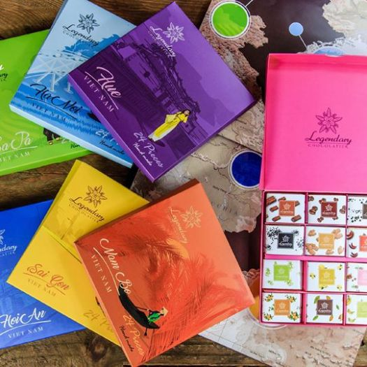 ベトナム・ホーチミンのお土産に「Legendary Chocolatier」のチョコレートはいかが⁉ 日本人なら対象商品が割引に‼