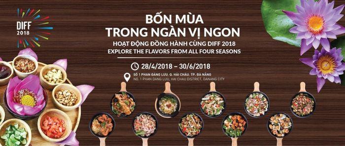 ダナンでフードフェスティバル「Four Seasons of Flavour」が開催!