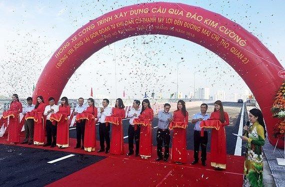 2区とキムクォン島つなぐ橋が正式開通、周辺の渋滞解消に期待,ベトナム, ホーチミン, Kim Cuong島,