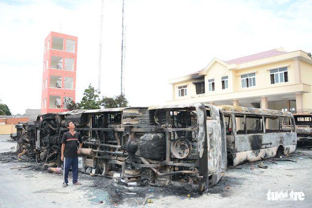 ベトナム中南部、警察が暴動事件の犯人12人を逮捕