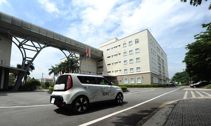 ベトナム初の自動運転車、運用開始か,ベトナム, FPT, 自動運転車, 無人