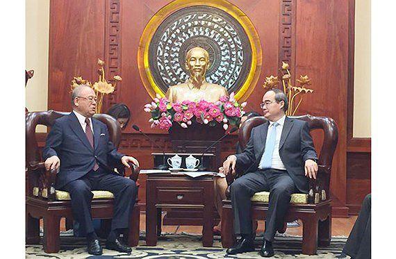 ホーチミン市、先端技術分野で日本との関係強化を望む,ベトナム,ホーチミン,日本,連携強化