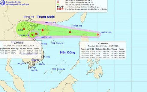 熱帯低気圧、台風に発達し日本海から接近か,ベトナム, 北部, 国立水文気象センター, 台風,