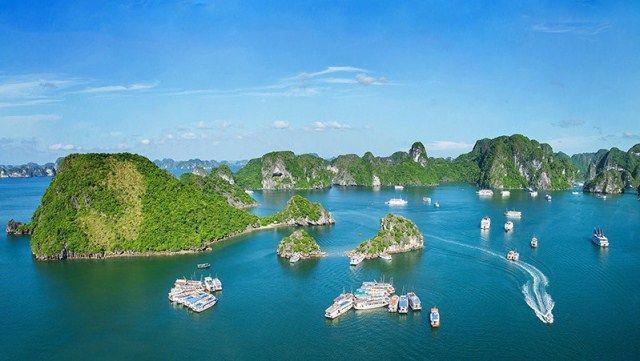 ハロン湾、「最も美しい世界遺産100選」に