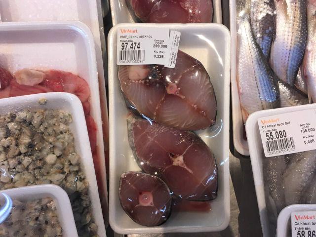 ベトナムに売られているサバ