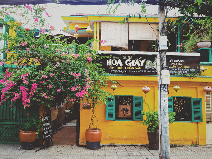 ホーチミン、古都ホイアンをモチーフにしたカフェが人気