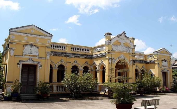 メコンデルタの豪邸、築100年に