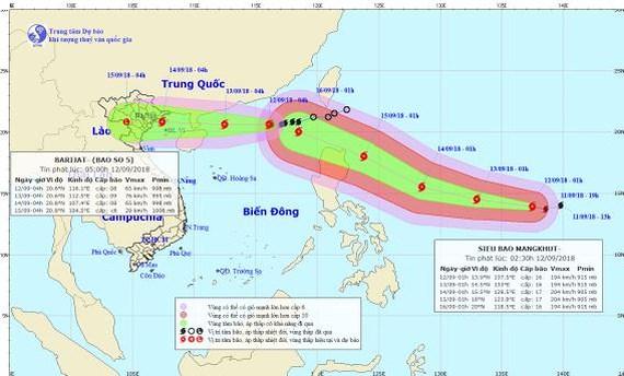 台風23号、温帯低気圧へ弱体化