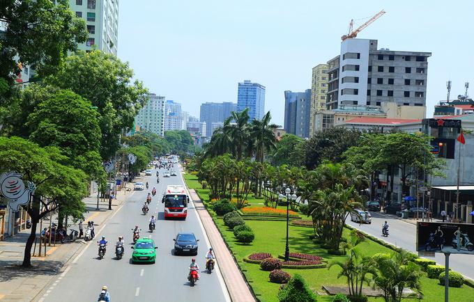 ハノイ、ベトナム国家主席の葬儀により道路通行止め,ベトナム, 国家主席, ハノイ, 葬儀,