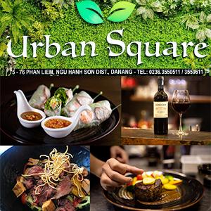 Urban Square|ダナンのおしゃれなカフェレストラン