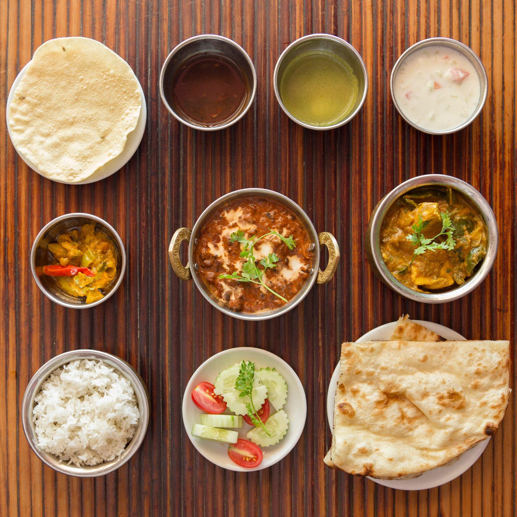 ハノイで人気のインド料理店からランチセットメニューのお知らせ【foodshop45】