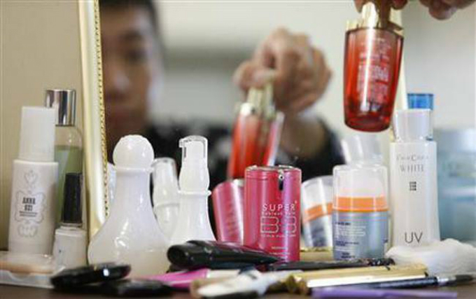 オンライン、美容商品購入
