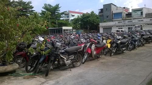 ホーチミン、ドンナイ省、押収車両増加か,ベトナム, ホーチミン, ドンナイ省, バイク押収,