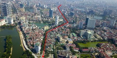 ハノイ、3億800万ドルで2.2㎞の道路建設予定か,ベトナム, ハノイ, 道路拡張, 投資承認,