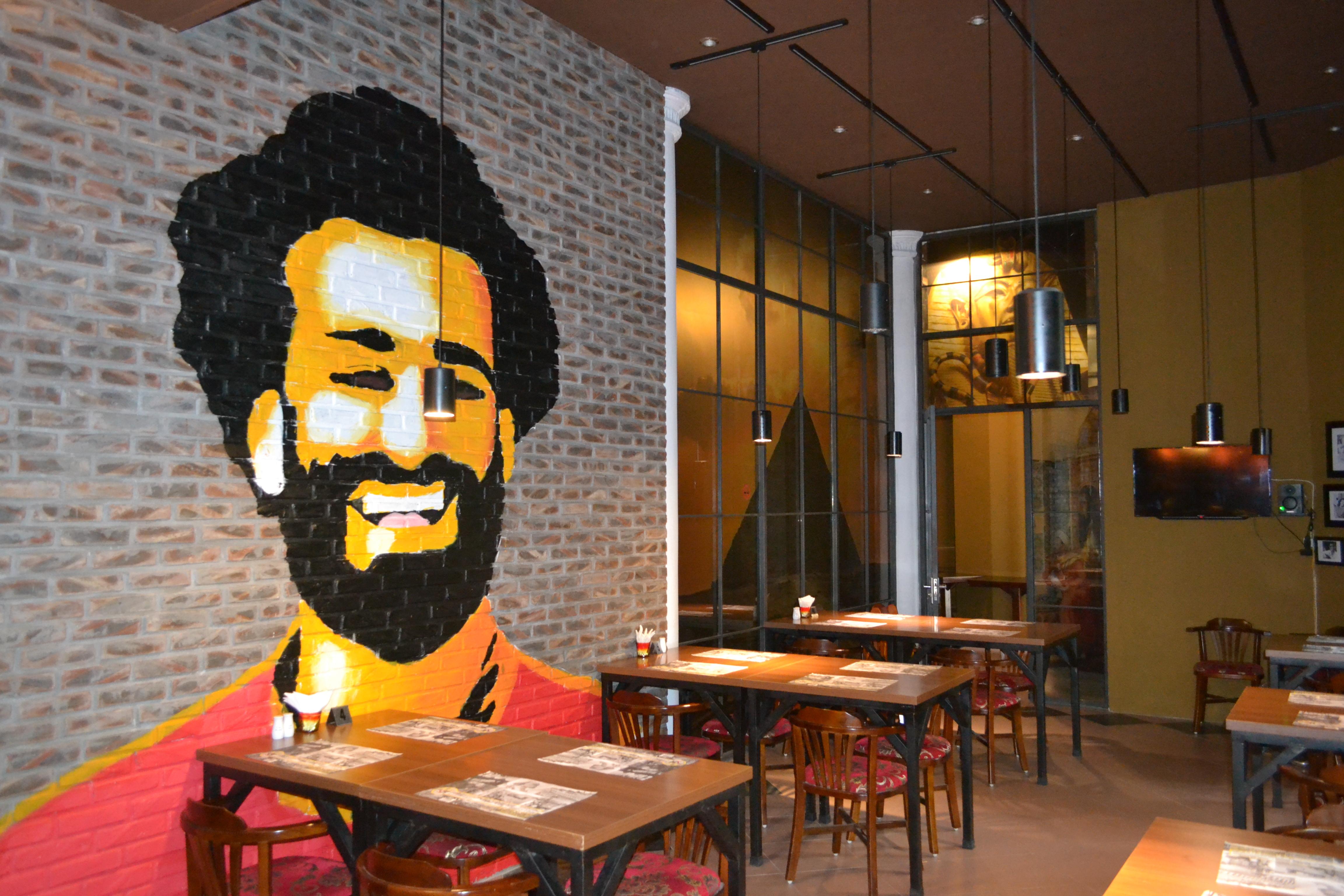 タイホー地区にあるエジプト料理店
