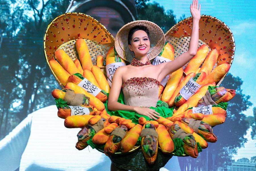 「バインミードレス」ミスユニバース代表衣装に,ベトナム,バインミー,ドレス,ミスユニバースベトナム