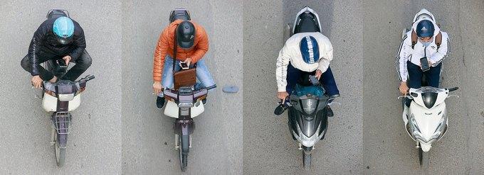 ベトナム、バイク写真集