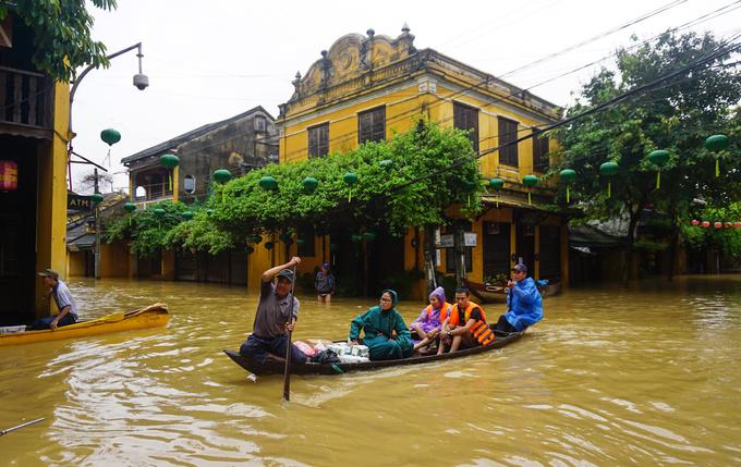 世界遺産古都ホイアン、気候変動の危機に直面,ベトナム, ホイアン, 気候変動, 世界遺産,