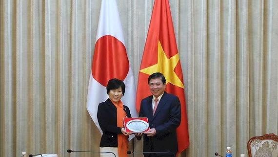 ホーチミン:日本は「重要パートナー」,ホーチミン,日本,関係,強化