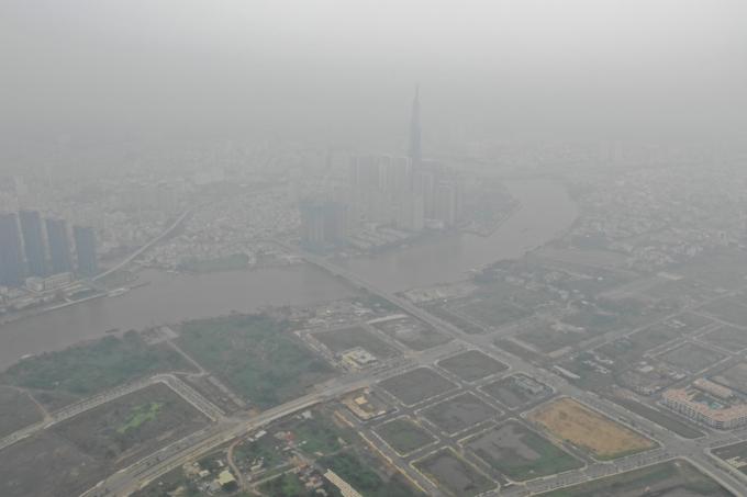 ホーチミンで濃霧発生、大気汚染が深刻化,ベアトナム, ホーチミン, スモッグ, 大気汚染,