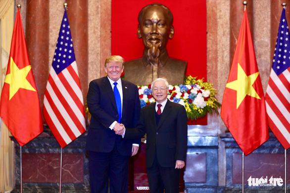 ベトナム政府高官、トランプ大統領と会談,ベトナム,ハノイ,アメリカ,トランプ大統領