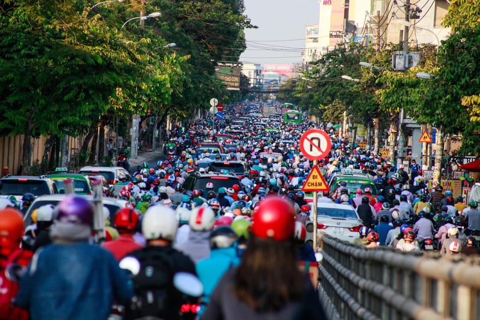 ホーチミン、帰宅ラッシュは大混雑,ベトナム,ホーチミン,渋滞