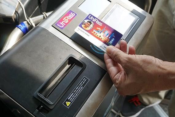ホーチミンのバスで自動清算システムの試験運用始まる,ホーチミン,バス,カード