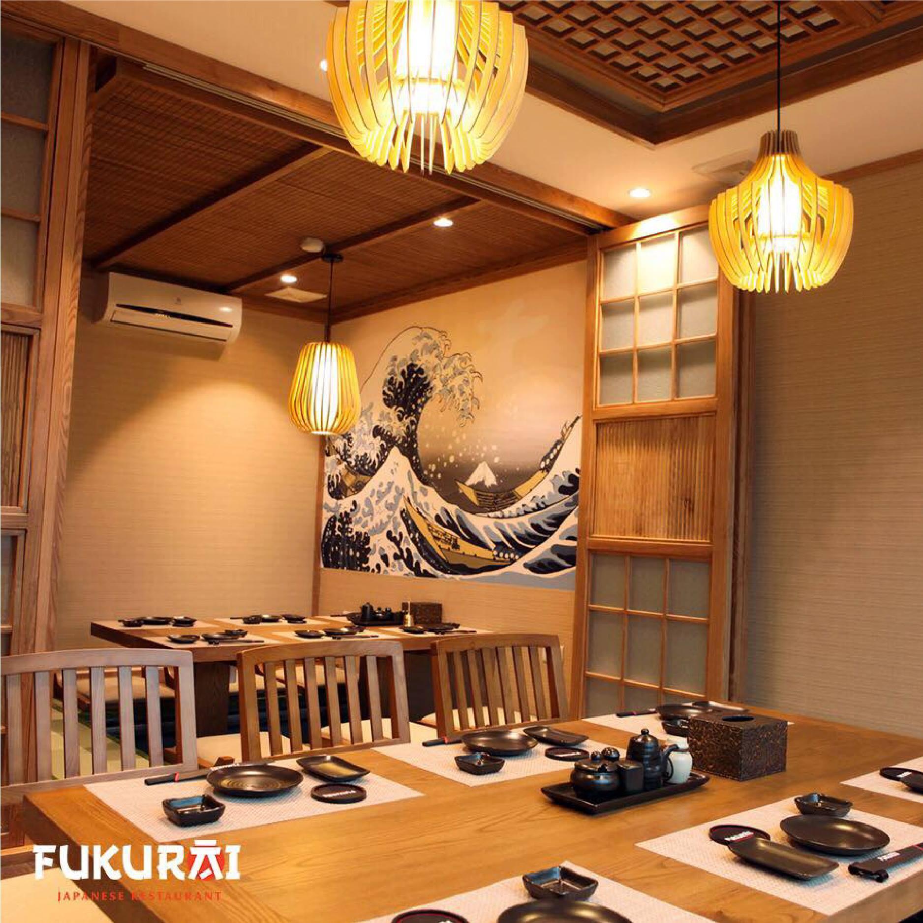 ハノイの日本食店「福来(FUKURAI)」予約限定10%割引!