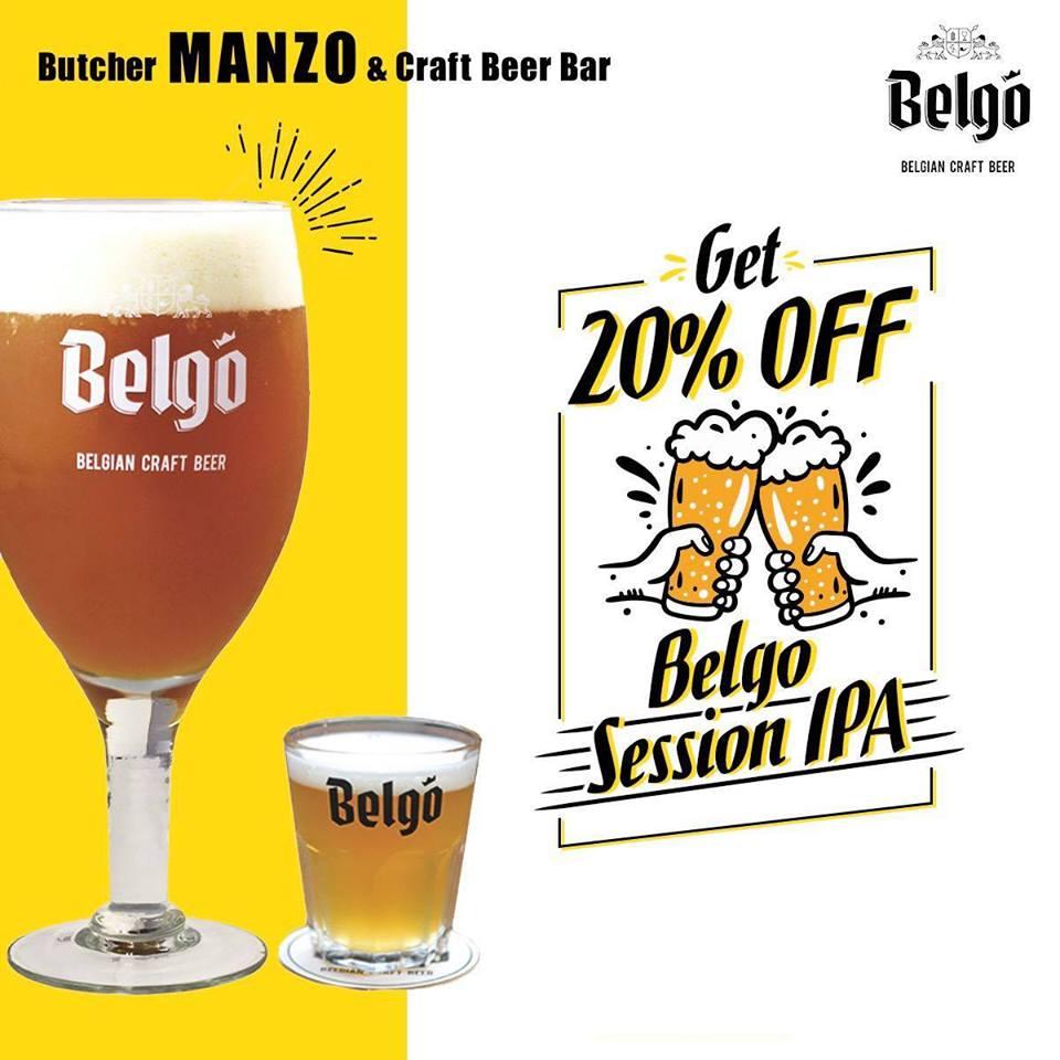 6月限定!【MANZO】ベルギービール「Belgo Session IPA」20%OFF!