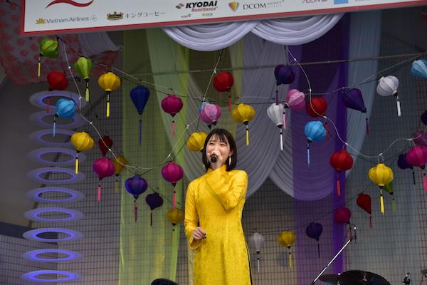 「アジアの天使」上野優華、観光親善大使としてホイアン日本祭り参加決定