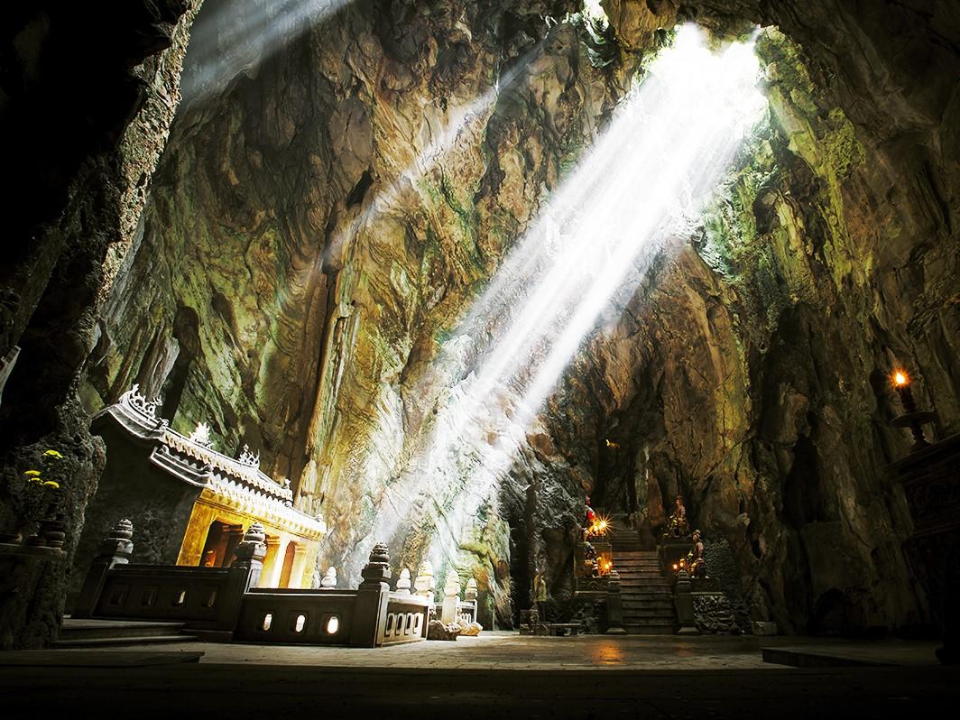 ダナン,五行山,フィエンコ洞窟