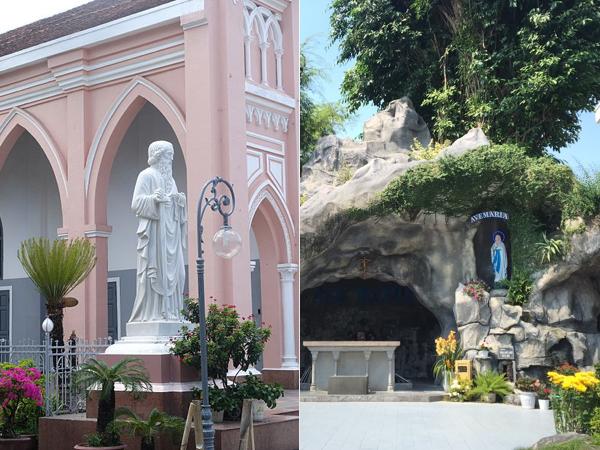 ダナン,ダナン大聖堂,イエス像,マリア様,洞窟