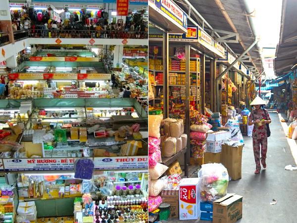 ベトナム,ダナン,ハン市場,コン市場