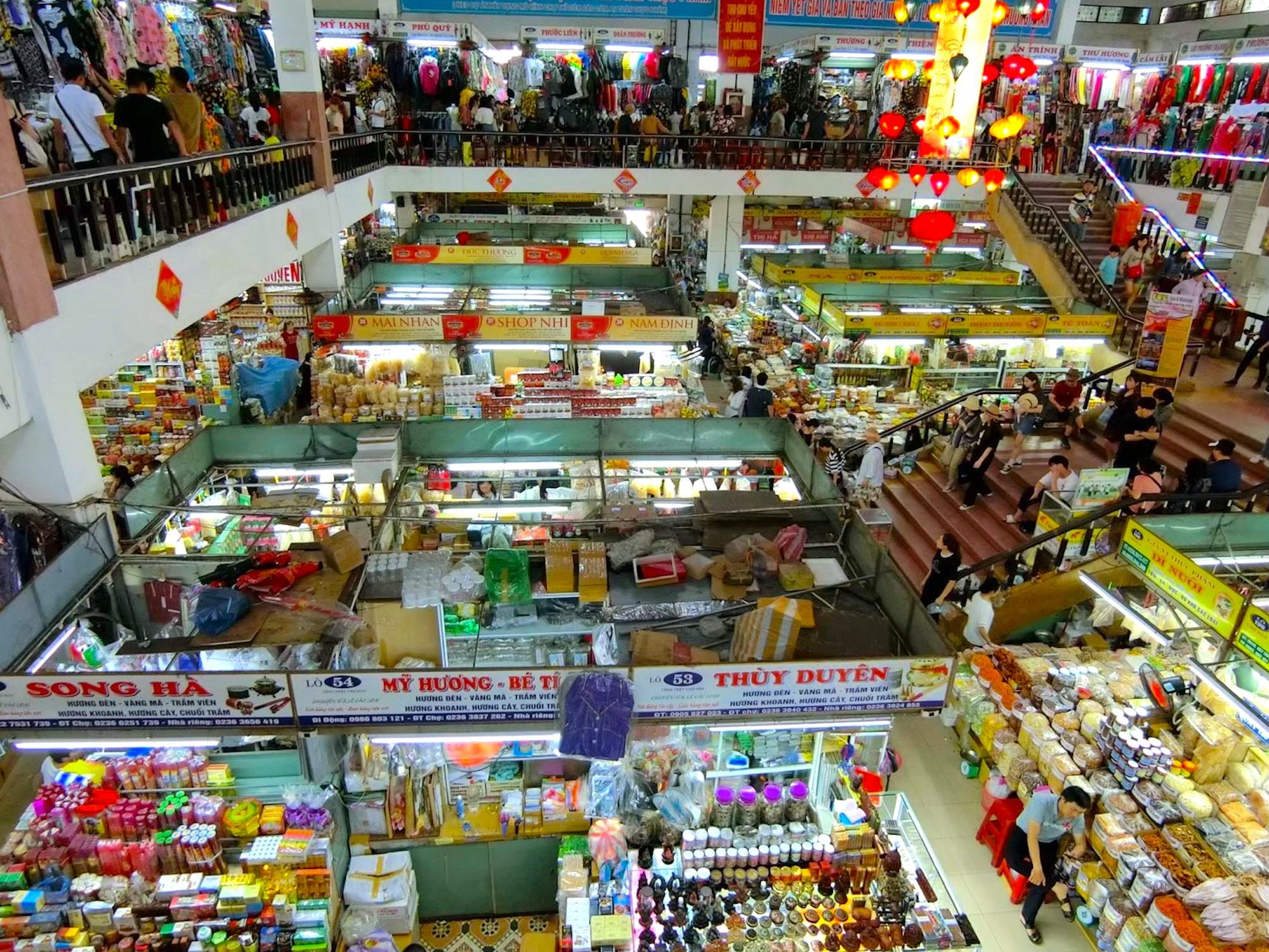ベトナム,ダナン,ハン市場