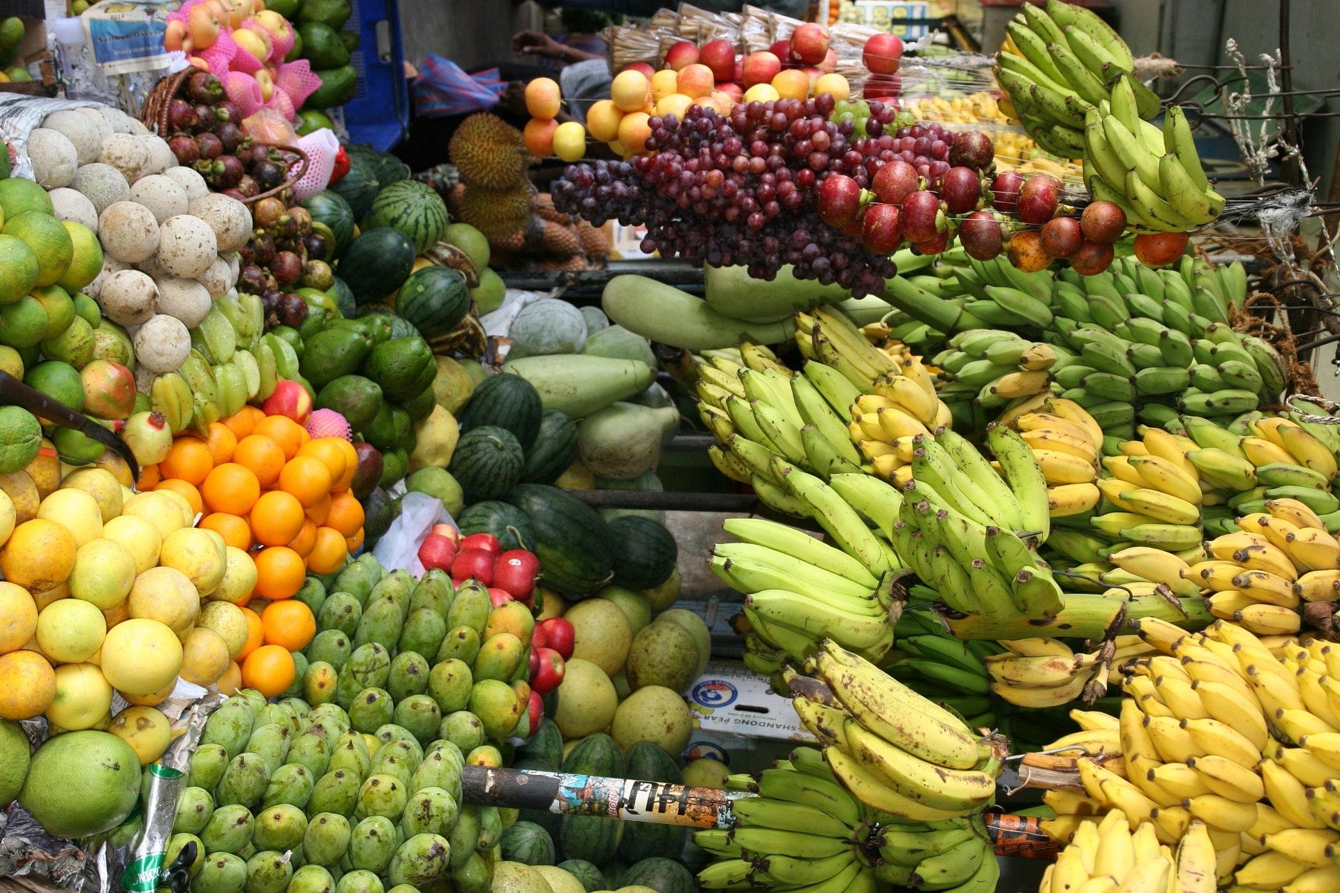 ベトナム,ダナン,ハン市場,フルーツ
