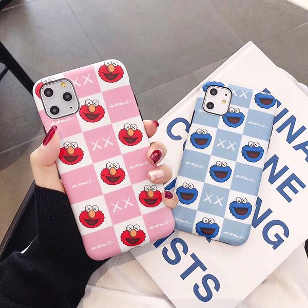 カウズ iphone 11/11pro maxケース 可愛い オシャレ supreme  ラグカーペット 北欧